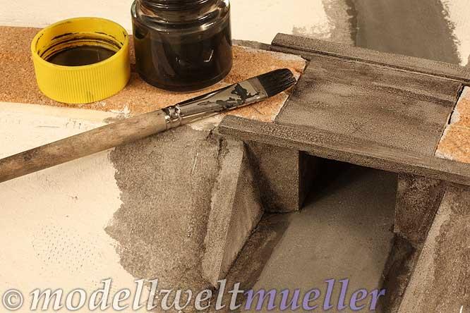 Beton Patinieren modellwelt müller flaches land